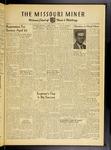 The Missouri Miner, April 13, 1956