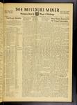The Missouri Miner, April 27, 1956