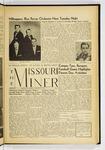 The Missouri Miner, October 19, 1956
