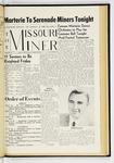The Missouri Miner, March 15, 1957