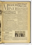 The Missouri Miner, October 25, 1957
