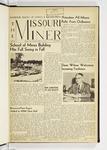 The Missouri Miner, September 19, 1958