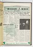 The Missouri Miner, March 13, 1959