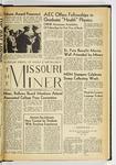 The Missouri Miner, November 20, 1959