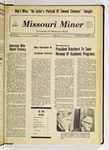The Missouri Miner, October 20, 1971