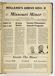 The Missouri Miner, November 03, 1971