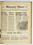The Missouri Miner, November 10, 1971