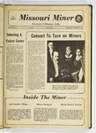 The Missouri Miner, November 17, 1971