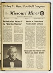 The Missouri Miner, January 19, 1972