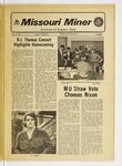 The Missouri Miner, October 18, 1972