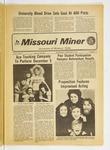 The Missouri Miner, November 29, 1972