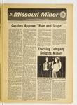 The Missouri Miner, January 24, 1973