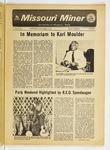 The Missouri Miner, September 19, 1973