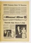 The Missouri Miner, October 10, 1973