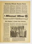 The Missouri Miner, October 17, 1973