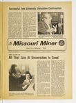 The Missouri Miner, January 23, 1974