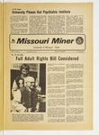 The Missouri Miner, January 30, 1974