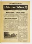 The Missouri Miner, Special Freshman Issue
