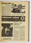 The Missouri Miner, September 26, 1974