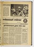 The Missouri Miner, October 03, 1974