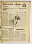 The Missouri Miner, October 24, 1974