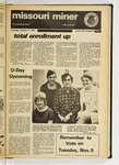 The Missouri Miner, October 31, 1974