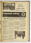 The Missouri Miner, January 23, 1975