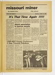 The Missouri Miner, October 16, 1975