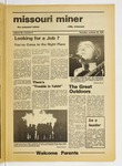The Missouri Miner, October 23, 1975
