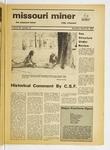 The Missouri Miner, March 25, 1976