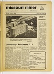 The Missouri Miner, April 22, 1976