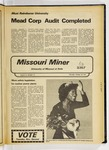 The Missouri Miner, October 28, 1976