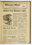 The Missouri Miner, March 10, 1977