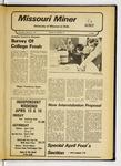 The Missouri Miner, March 31, 1977
