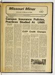 The Missouri Miner, April 28, 1977