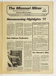 The Missouri Miner, October 13, 1977