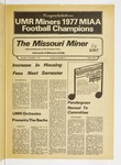 The Missouri Miner, December 01, 1977