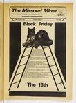 The Missouri Miner, January 13, 1978