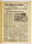 The Missouri Miner, January 26, 1978