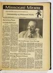 The Missouri Miner, September 13, 1979