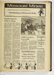 The Missouri Miner, October 25, 1979