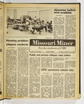The Missouri Miner, September 18, 1980