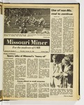 The Missouri Miner, October 23, 1980