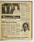 The Missouri Miner, October 30, 1980