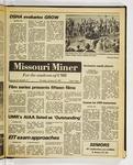The Missouri Miner, January 22, 1981