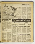The Missouri Miner, January 29, 1981