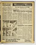 The Missouri Miner, February 19, 1981