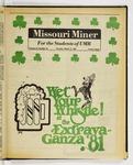 The Missouri Miner, March 12, 1981