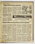 The Missouri Miner, March 19, 1981
