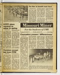 The Missouri Miner, April 30, 1981